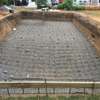 Step 4 - Gunite pool construction